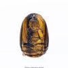 Phật A Di Đà đá mắt hổ vàng nâu
