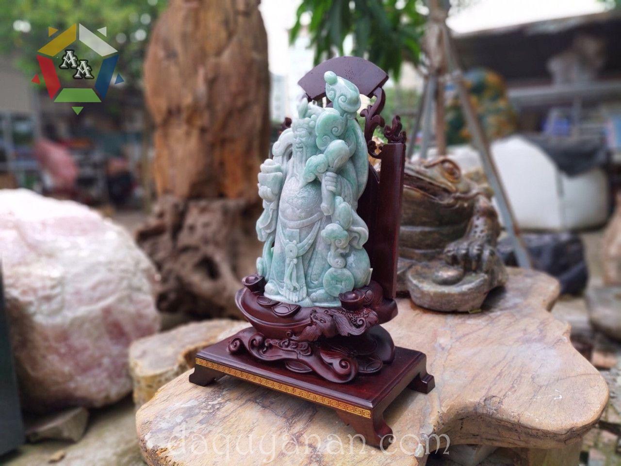 Thần tài ngọc Jadeite tự nhiên