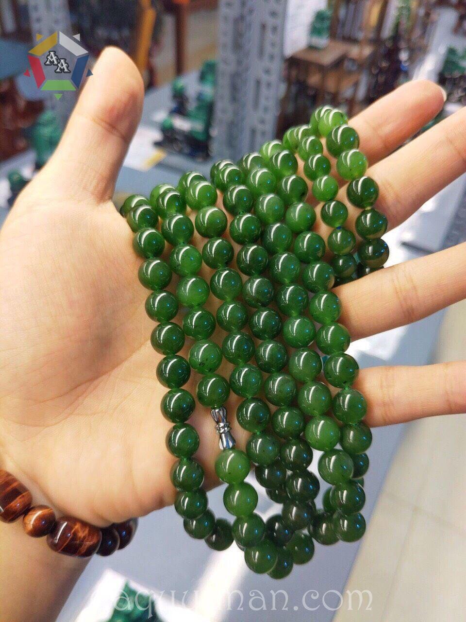 Vòng tay Ngọc Nephrite Ngọc Bích Canada