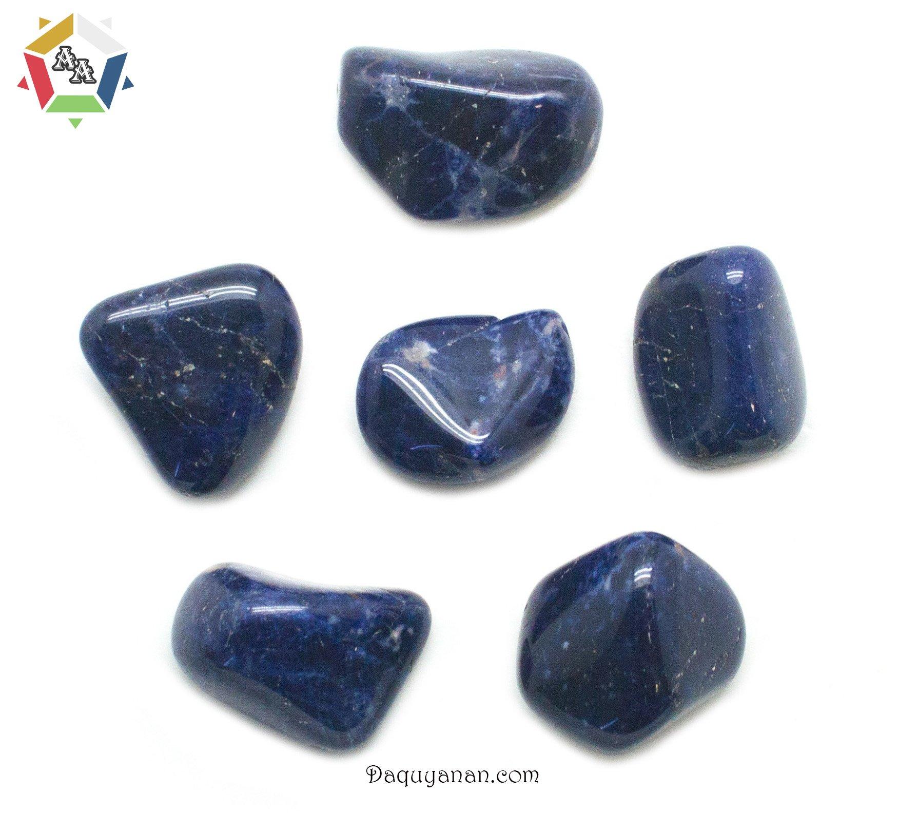Đá Sodalite màu xanh tím