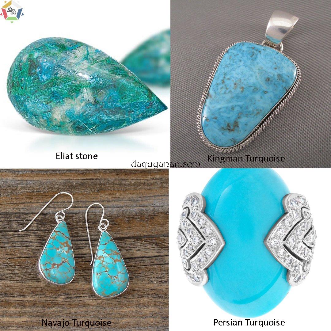 Các loại đá ngọc lam turquoise