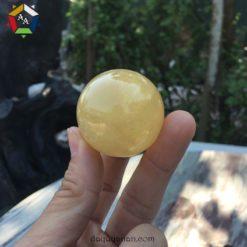 Bi lăn tay đá canxit vàng