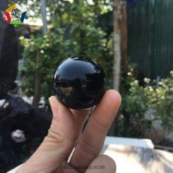 Bi lăn tay đá Onyx đen